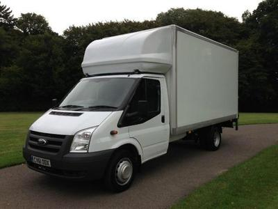 Luton van for moving in Leicester